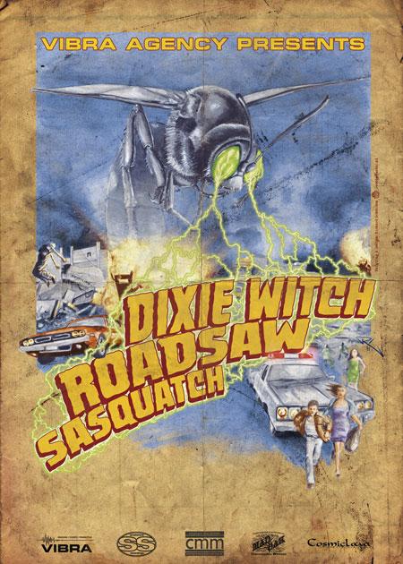 Dixie Witch, Roadsaw & Sasquatch Euro Tour