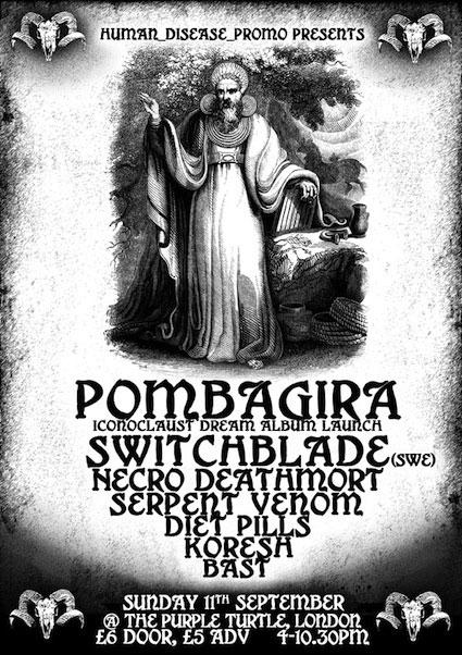 Pombagira Album Launch