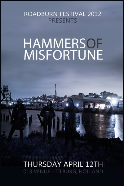 Roadburn 2012 - Hammers Of Misfortune