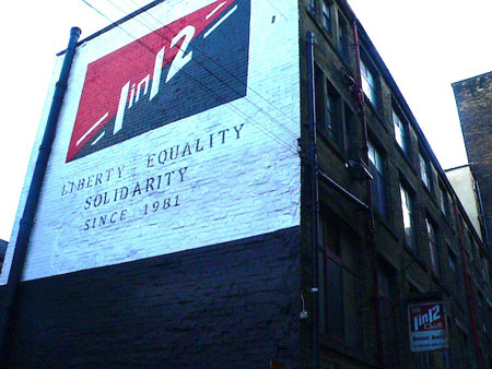 1-In-12 Club Bardford - Liberty, Equality, Solidarity