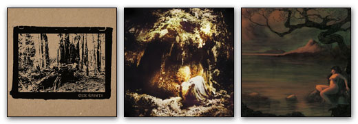 Article Image - Olde Growth / Wolves In The Throne Room / Elder artwork