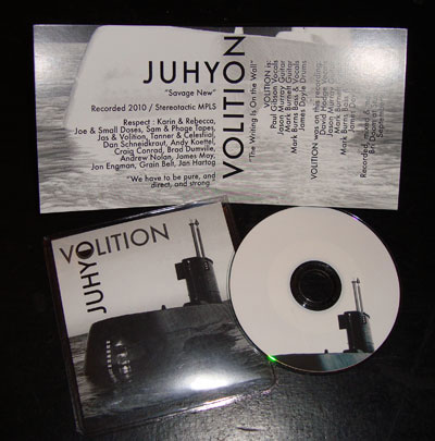 Volition/Juhyo – Split Cassette/3″ CDR