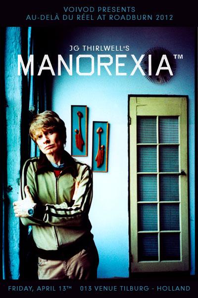 Roadburn 2012 - J.G.Thirlwell's Manorexia