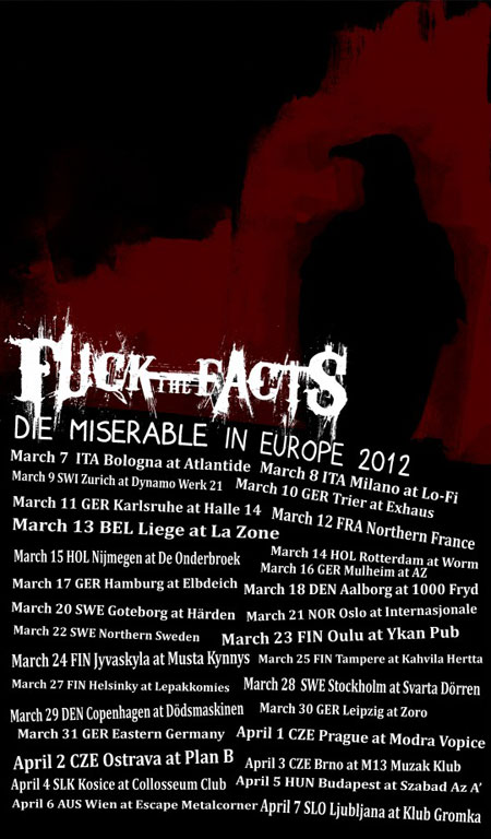 Fuck The Facts - Euro Tour 2012