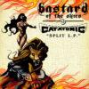 Bastard Of The Skies / Catatomic Split LP Artwork