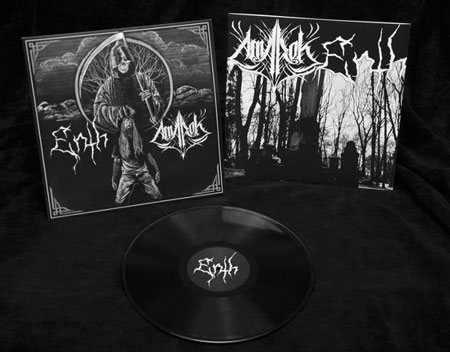 Enth / Amarok - Split LP Artwork