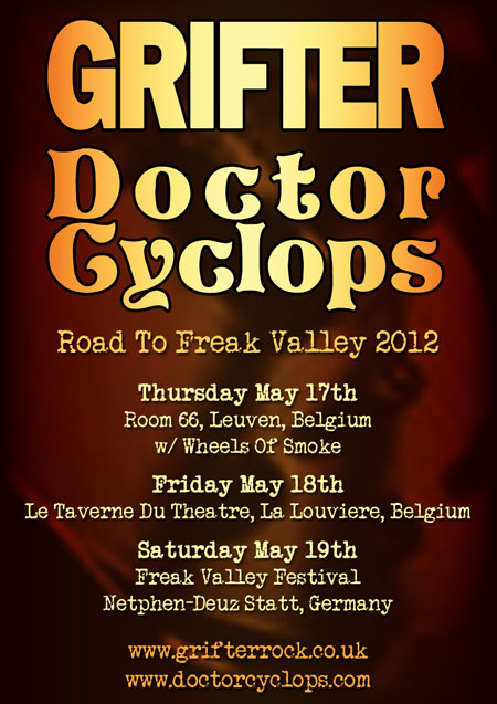 Grifter / Doctor Cyclops - Euro Tour 2012