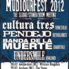 Mud Tour Fest 2012 Flyer