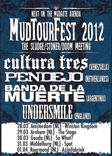 Mud Tour Fest 2012 Flyer