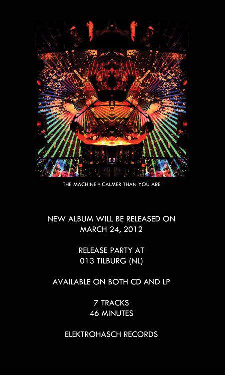 machine new album
