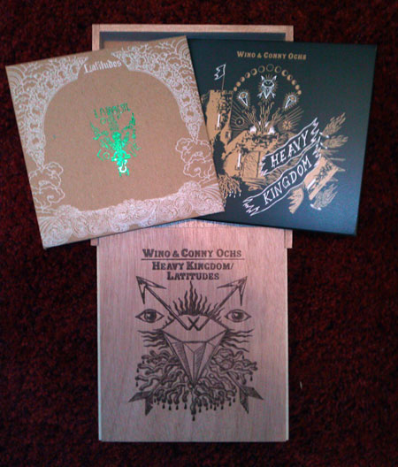 Wino & Conny Ochs 'Heavy Kingdom' Box Set