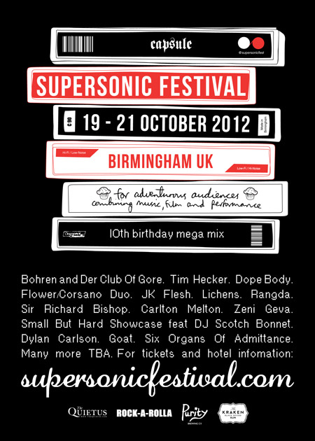 Supersonic 2012