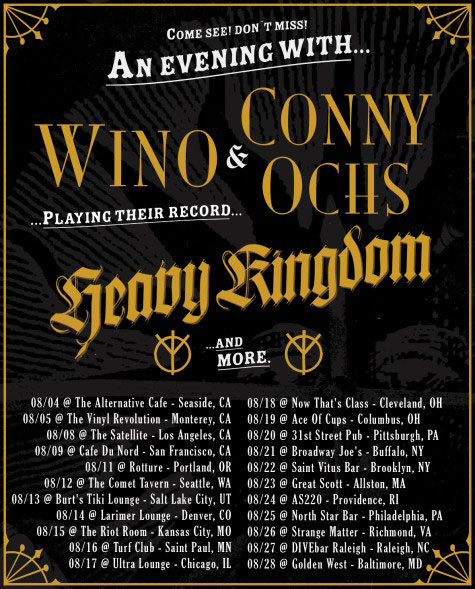Wino & Conny Ochs - US Tour 2012