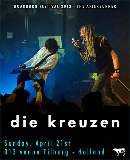 Roadburn 2013 - Die Kreuzen - Afterburner