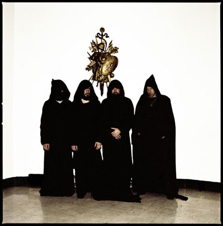 Sunn O))) - Photo by Andrew Beardsworth