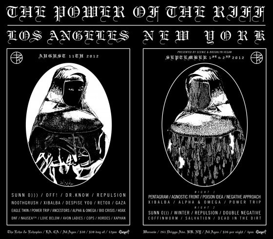 The Power Of The Riff - LA & NY 2012