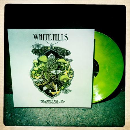 White Hills 'Live At Roadburn' Green Vinyl