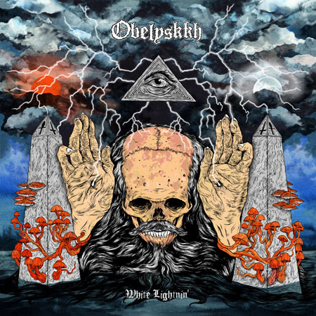 Obelyskkh 'White Lightnin' Artwork