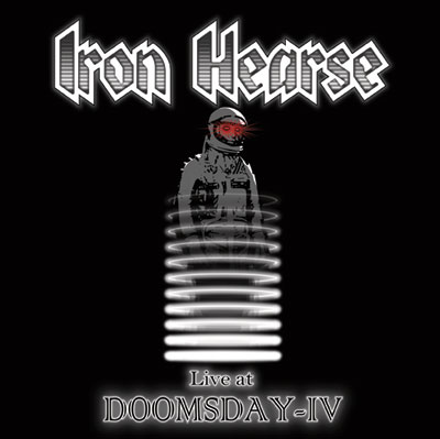 Iron Hearse 'Live At Doomsday IV' Artwork
