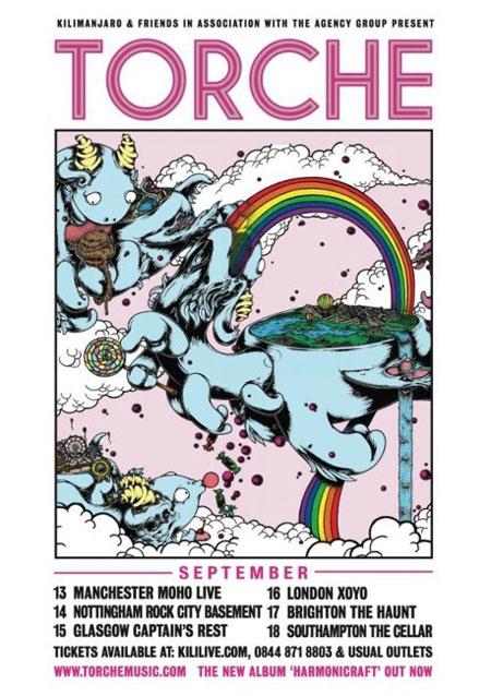 Torche - UK Tour 2012