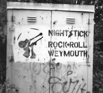 Nightstick 'Rock N Roll Weymouth' Artwork