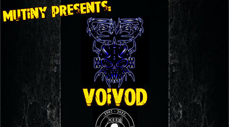 Voivod / Doom / Jacknife Holiday @ NQ Live, Manchester 04/10/2012