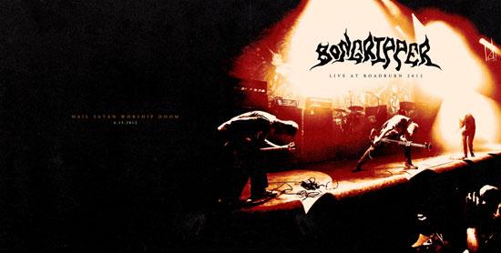 Bongripper 'Live At Roadburn 2012' Artwork