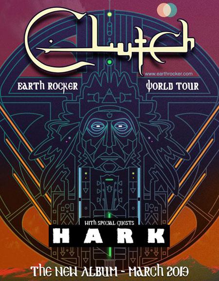 Clutch / Hark Euro Tour 2013