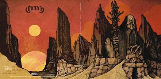 Conan 'Mount Wrath - Live At Roadburn 2012' Artwork