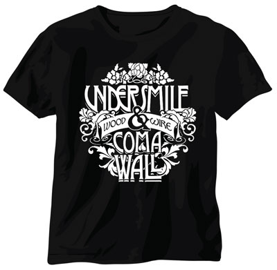Coma Wall / Undersmile 'Wood & Wire' T-Shirt