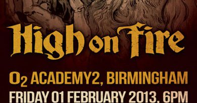High On Fire / Jumping Jack / Lizzard / Alunah @ Academy2, Birmingham 01/02/2013