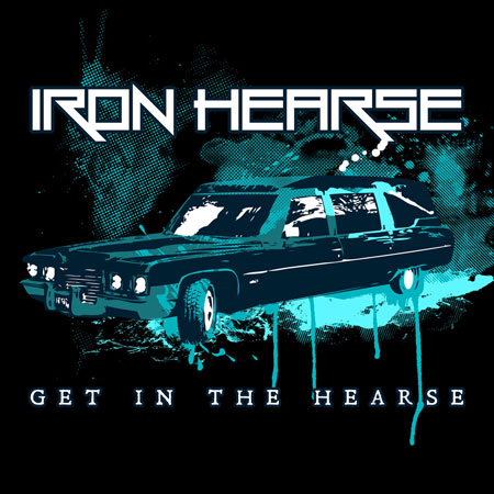 Iron Hearse 'Get In The Hearse' Artwork