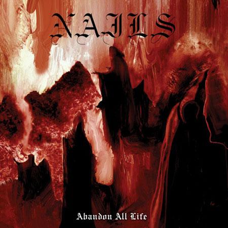Nails 'Abandon All Life' Artwork