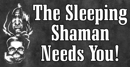The Sleeping Shaman Needs You