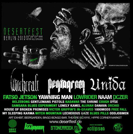Desertfest 2013 Berlin