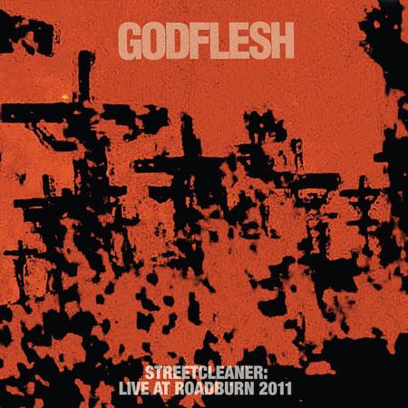Godflesh 'Streetcleaner: Live At Roadburn 2011' Artwork