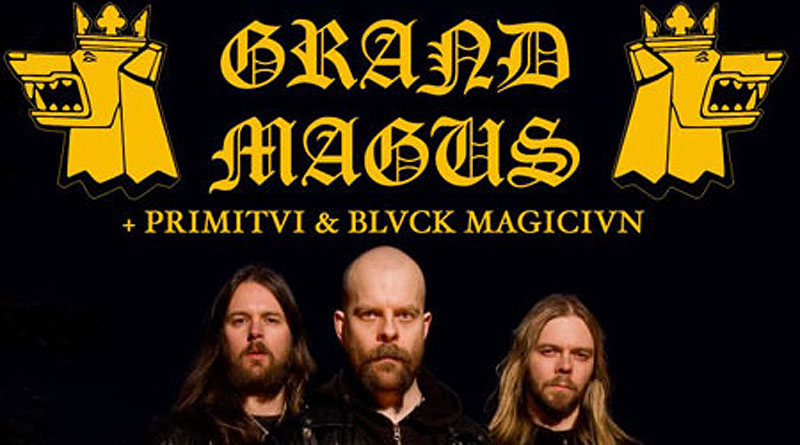 Grand Magus / Primitai / Black Magician @ NQ Live, Manchester 26/02/2013