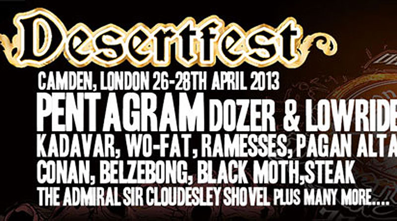 Desertfest 2013 London