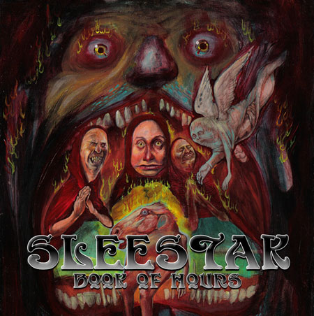 Sleestak 'Book Of Hours' Artwork