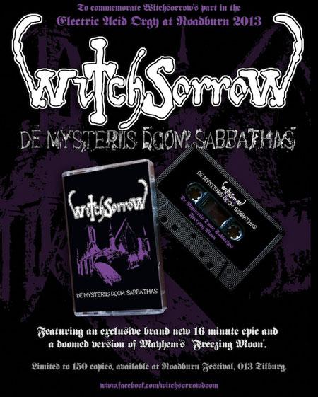 Witchsorrow 'De Mysteriis Doom Sabbathas' Roadburn 2013