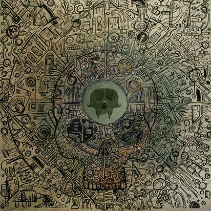 Ape Machine 'Mangled By The Machine' Artwork