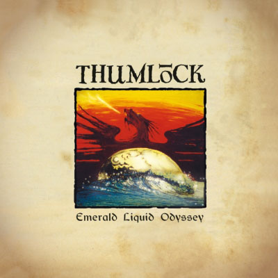 Thumlock 'Emerald Liquid Odyssey' Artwork