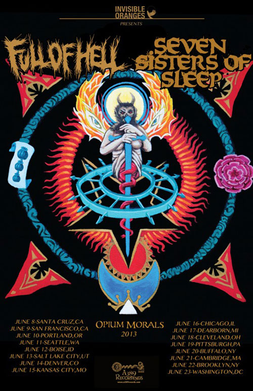 Seven Sisters Of Sleep - Summer 2013 Tour