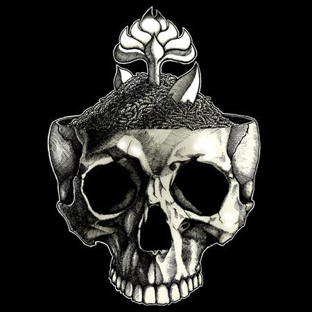 The Ruiner - Skull Artwork