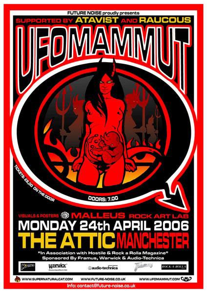 Ufomammut / Atavist / Raucous - Manchester 24/04/06