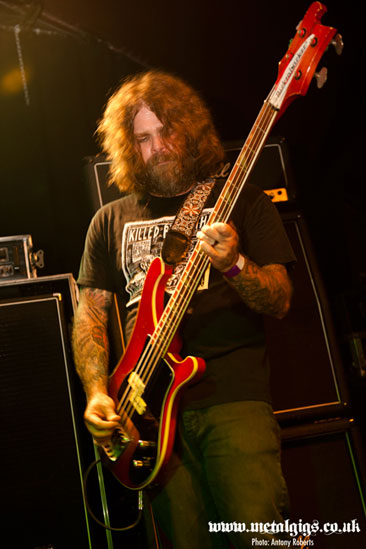 Earthless @ The Garage, London 14/07/2013 - Photo by Anthony Roberts