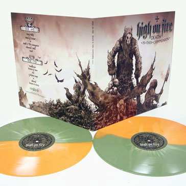 High On Fire 'Death Is This Communion' Vinyl