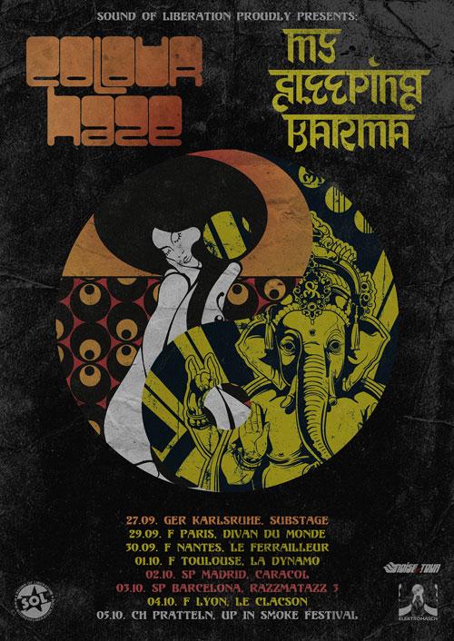 Colour Haze & My Sleeping Karma - Euro Tour 2013