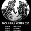 Nightstick / Fistula - Rock 'N' Roll Vermin Tour 2013