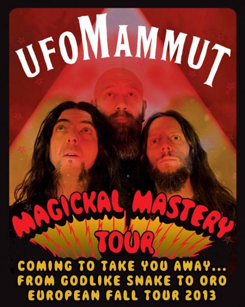 Ufomammut - Magickal Mastery Tour 2013